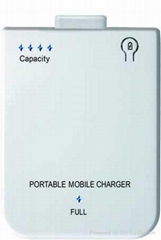 Iphone portable emergency charger(2800mah)