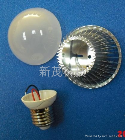 LED 球泡燈鰭片式燈杯套件 3