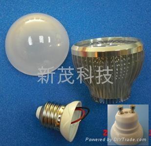 LED 球泡燈鰭片式燈杯套件 5