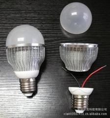 G60 6W LED鰭片式球泡燈套件