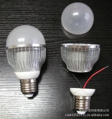 G65 8W LED鰭片式球泡燈 1