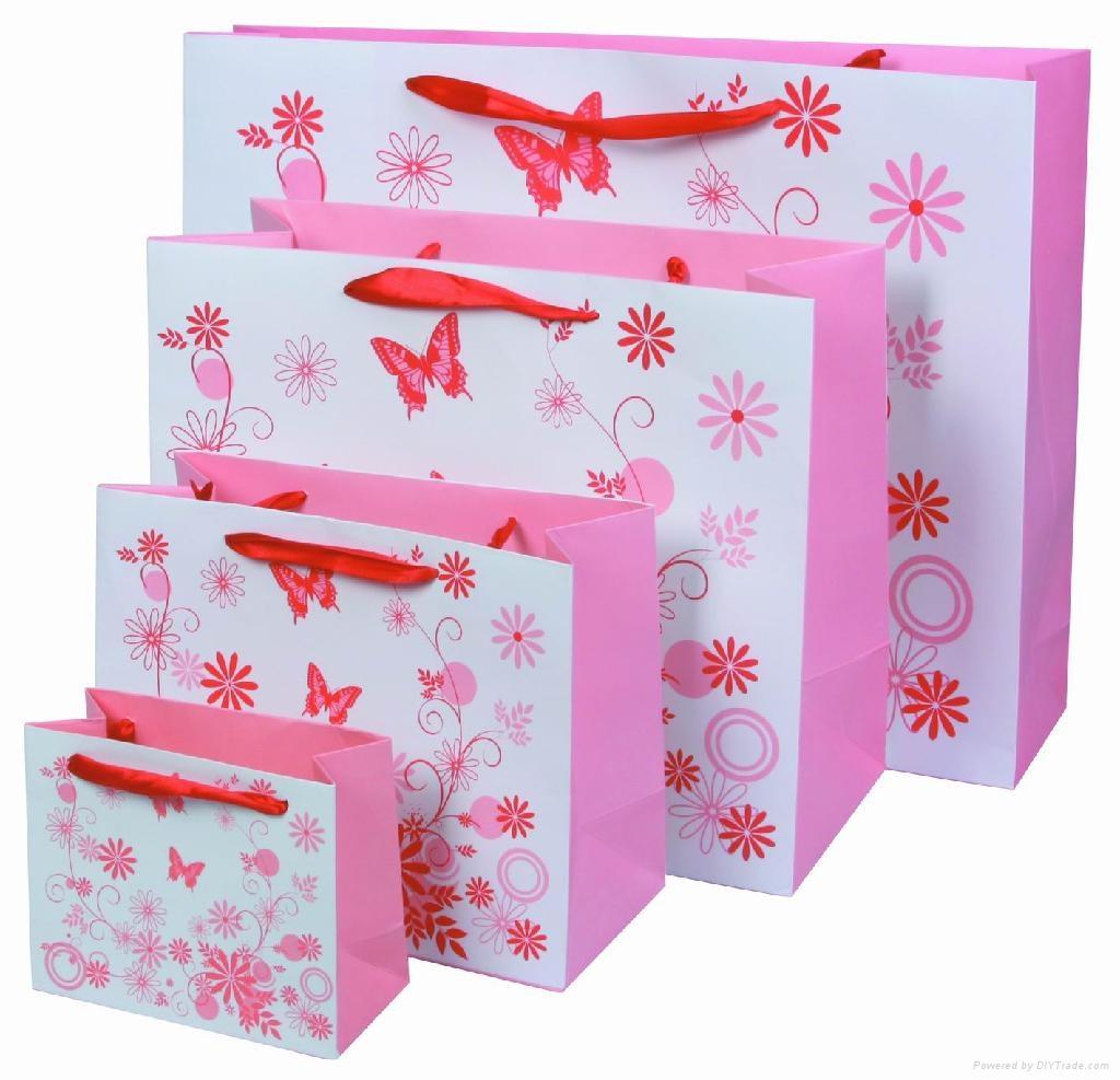 Order a paper gift bag diy