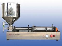 G1WGD臥式單頭膏體定量灌裝機