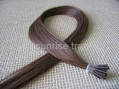 human remy hair extensions keratin tip hair