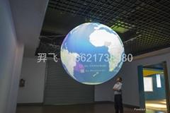 氣承式視頻投影球