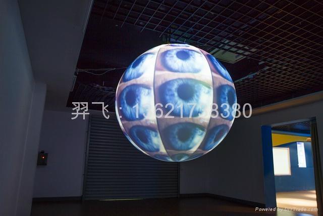 氣承式視頻投影球 2