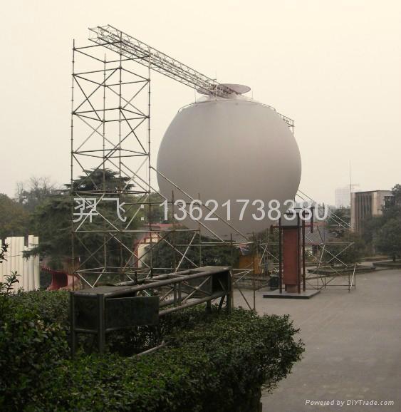 氣承式視頻投影球 4