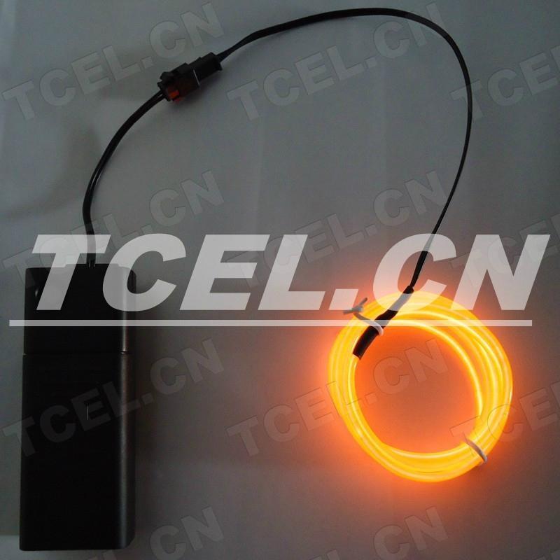 橙光EL發光線 3