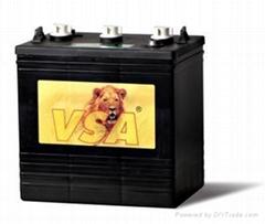 高尔夫球车电池