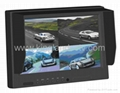 9 inch Quad Rear View Monitor