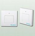 RF single way wireless flat switch