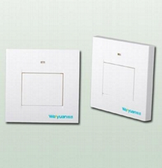 RF single way wireless flat switch