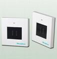 RF 2-way wireless touch screen switch
