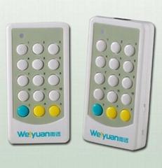 15-button 12-way remote control