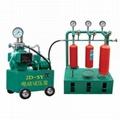 試壓泵和工作台