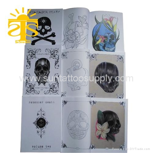 tattoo flash book. Diary tattoo flash book