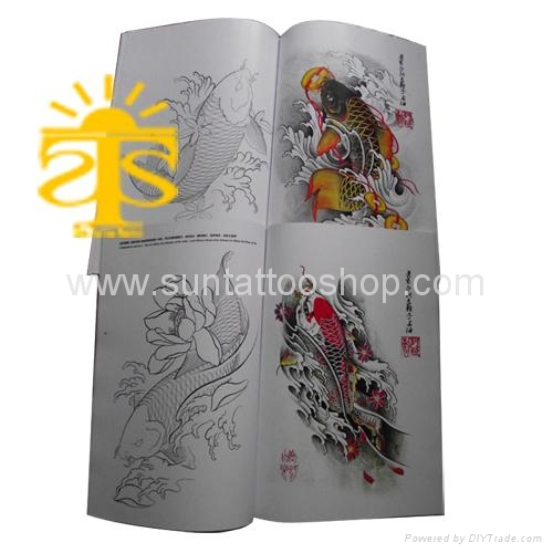 tattoo flash book. tattoo flash book Chinese Carp
