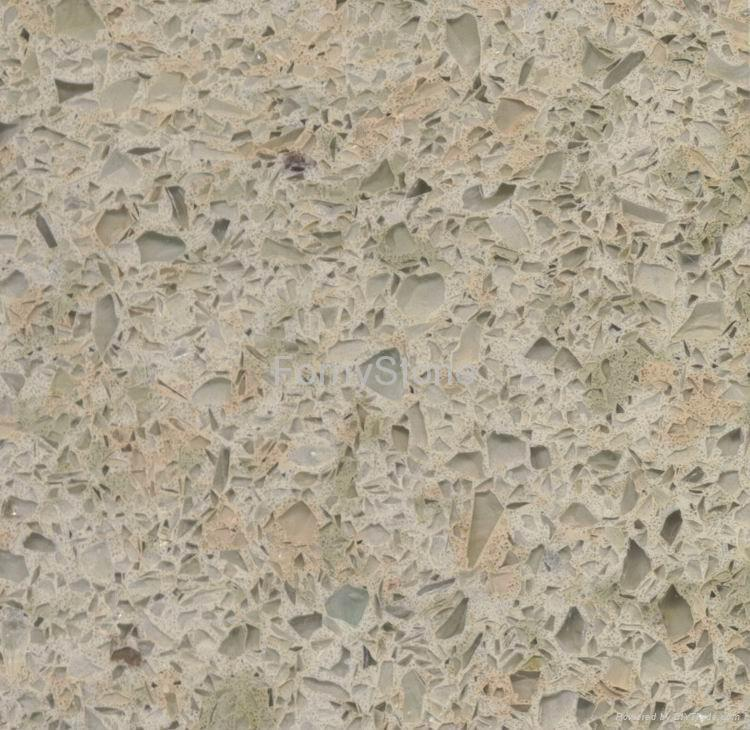 Engineered Quartz Stone Quartz Countertop Fornystone