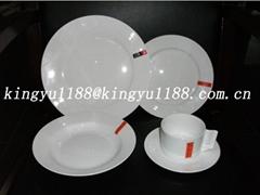 ceramic dinnerware&porcelain