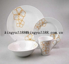 ceramic porcelain dinnerware