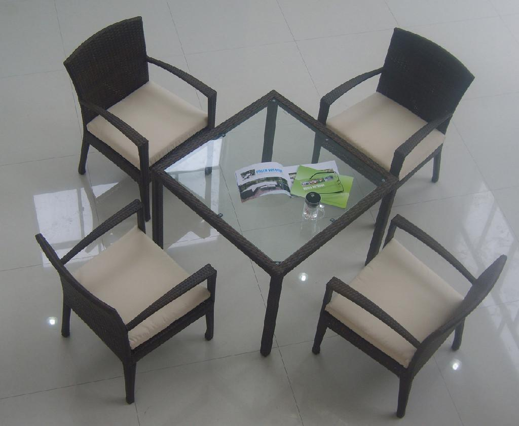 Brilliant Glass Dining Table Wicker Chairs 1024 x 840 · 63 kB · jpeg