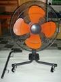 Movable fan - 3 wheels