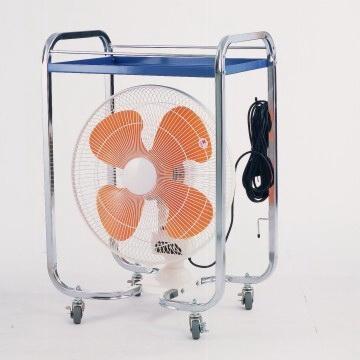 Movable fan - 4 wheels 1