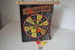 Magnet dart board