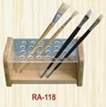 wooden paint brush holder(RA-118)