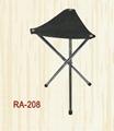 leather seat steel stool(RA-208)