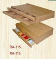 drawers wood pastel box(RA-115 116)
