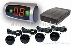 Parking Reversing Sensor Buzzer LED Display System