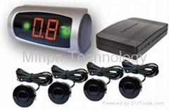 Parking Reversing Sensor Buzzer LED Display System