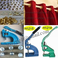 china hot heavy duty mannual grommet tools-punching machine