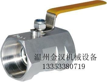 不鏽鋼一片式球閥Q11F 2