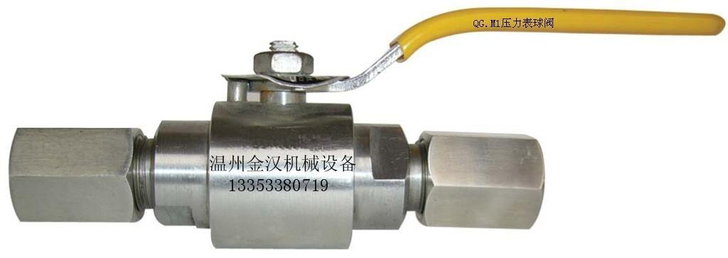 QG.M1壓力表球閥 1