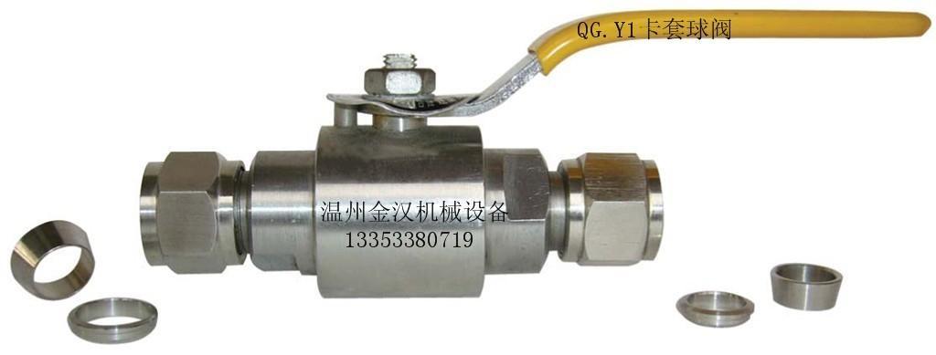 QG.M1壓力表球閥 5
