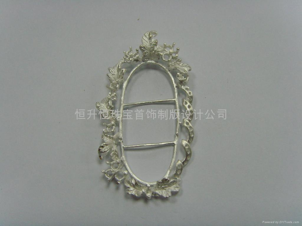 珠宝首饰制版 1