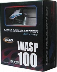 Wasp 100 2.4GHz 4ch Brushed Mini Helicopter