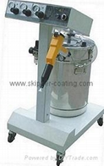electrostatic powder coating gun