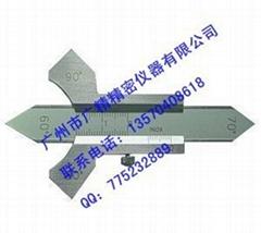精密焊缝检验尺0-20mm