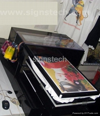 Flatbed T-Shirt Garment Printer