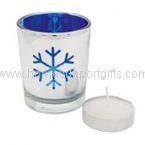 Christmas candle cup