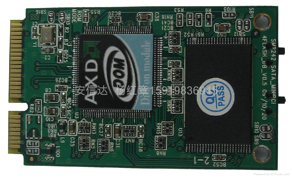 笔记本固态硬盘pcie接口SATA信号 1