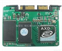 安信达1寸MicroSATA接口SSD固态硬盘
