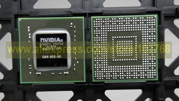 nVIDIA BGA Chip G86-603-A2