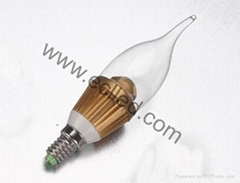 High Power LED Candle Lamp 3w
