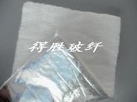 无碱玻璃纤维棉贴合铝箔