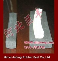 Neoprene sponge rubber gasket