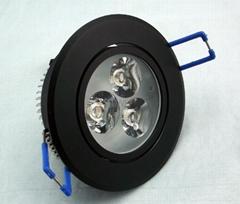 3W LED Ceiling Light Panel Lights Ceiling Panel Light Bulb
